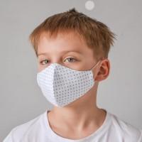 Маска для лица «ГОРОШКИ» детская
