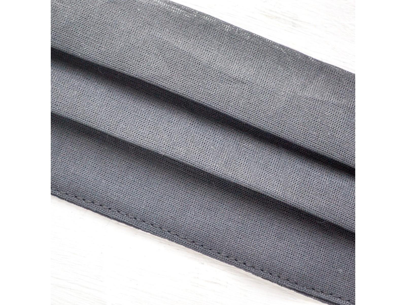 Маска гигиеническая черная (упак. 10 штук)