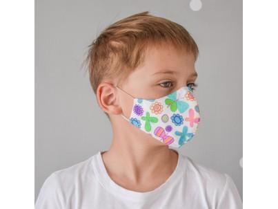 Маска для лица «БАБОЧКИ» детская