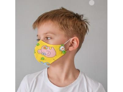 Маска для лица «СЛОНИКИ» детская
