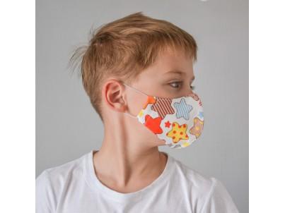 Маска для лица «ПРЯНИКИ» детская